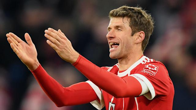 With a double against Werder Bremen, Thomas Muller completed a century of goals in the Bundesliga.
