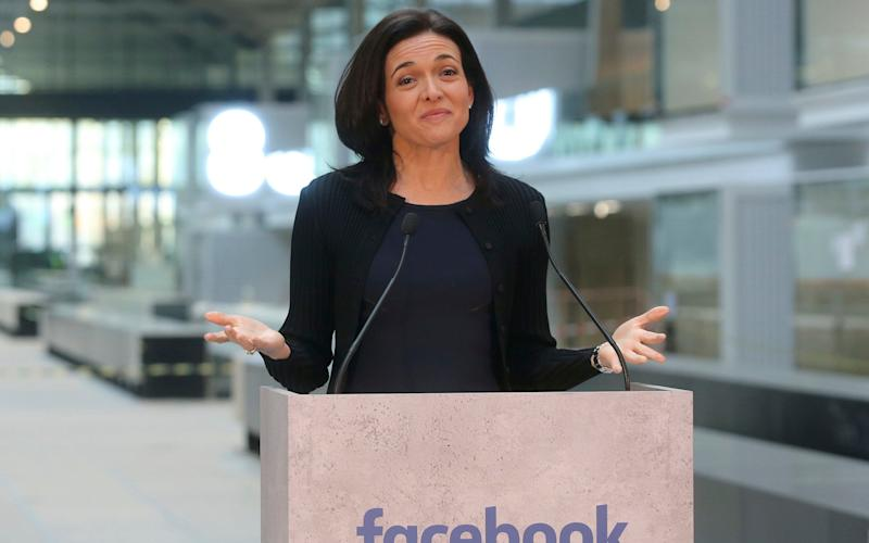 Sheryl Sandberg admitted that civil rights campaigners had 'valid concerns' and announced changes to how advertising works across Facebook - AP
