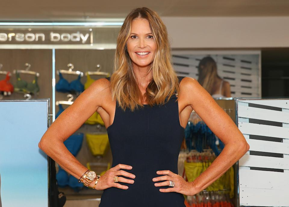 Elle Macpherson has come under fire for her advice to skip meals [Photo: Getty]