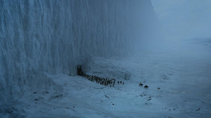 Jon Snow and the Free Folk venture beyond the Wall in the series finale of 'Game of Thrones' (Photo: HBO)