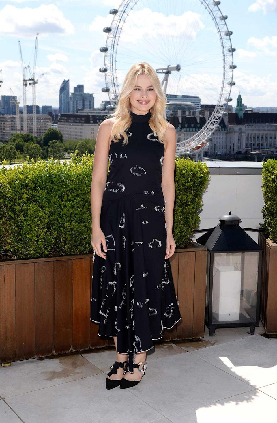 """<h2>In Proenza Schouler</h2> <p>At the photo call for <em>The Legend Of Tarzan</em> in London, 2016</p> <h4>Getty Images</h4> <p> <strong>Related Articles</strong> <ul> <li><a rel=""""nofollow noopener"""" href=""""http://thezoereport.com/fashion/style-tips/box-of-style-ways-to-wear-cape-trend/?utm_source=yahoo&utm_medium=syndication"""" target=""""_blank"""" data-ylk=""""slk:The Key Styling Piece Your Wardrobe Needs"""" class=""""link rapid-noclick-resp"""">The Key Styling Piece Your Wardrobe Needs</a></li><li><a rel=""""nofollow noopener"""" href=""""http://thezoereport.com/fashion/shopping/everything-need-let-zoe-giveaway/?utm_source=yahoo&utm_medium=syndication"""" target=""""_blank"""" data-ylk=""""slk:Everything You Need From Our Let It Zoe Giveaway"""" class=""""link rapid-noclick-resp"""">Everything You Need From Our Let It Zoe Giveaway</a></li><li><a rel=""""nofollow noopener"""" href=""""http://thezoereport.com/beauty/celebrity-beauty/josephine-skriver-makeup-tutorial-video-vogue/?utm_source=yahoo&utm_medium=syndication"""" target=""""_blank"""" data-ylk=""""slk:A Victoria's Secret Model Shows Us How To Get Our Lips To Her Level"""" class=""""link rapid-noclick-resp"""">A Victoria's Secret Model Shows Us How To Get Our Lips To Her Level</a></li> </ul> </p>"""