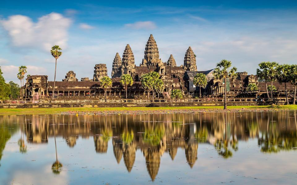 Cambodia's Angkor temples usually draw tourists from around the world - Getty