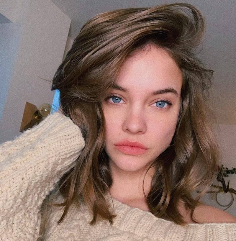 Barbara Palvin shows off a fresh chop. Photo courtesy of Instagram.