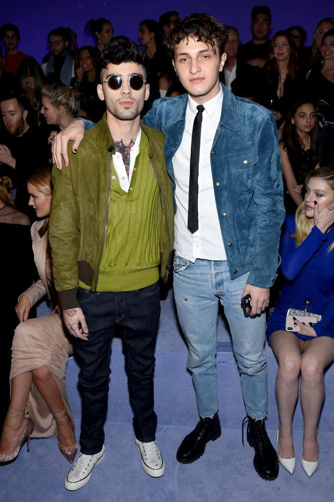 <p>Zayn Malik and Gigi and Bella's younger brother Anwar Hadid. <em>[Photo: Getty]</em> </p>