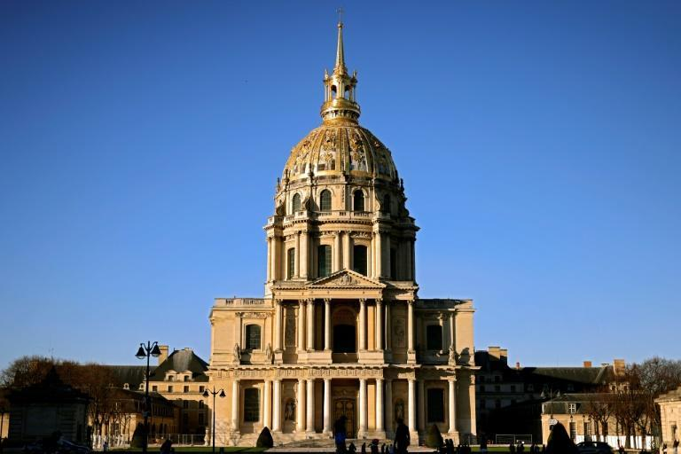 Macron will lay a wreath at the Hotel des Invalides where the body of Napoleon was laid to rest in 1861.