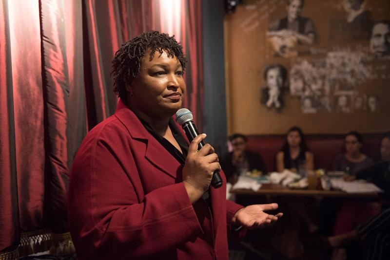 Former Georgia House Minority Leader Stacey Abrams. (Photo: Kevin Wolf/AP Images for the Roosevelt Institute)