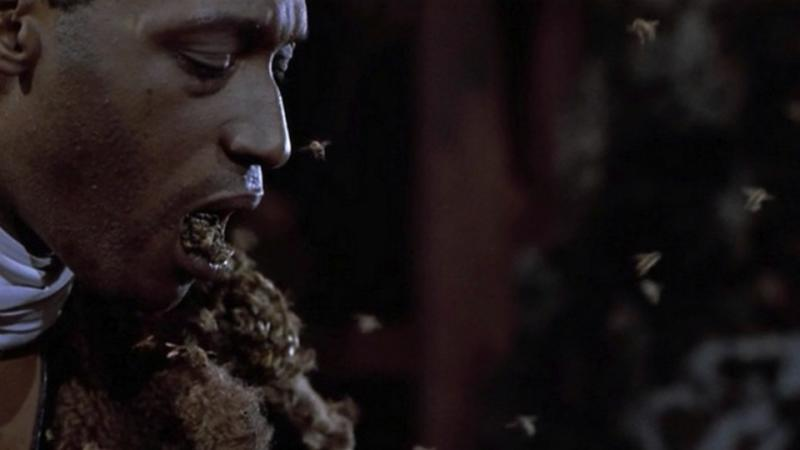 An image from new horror movie Candyman