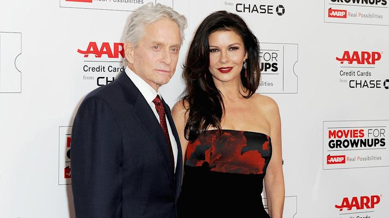 Catherine Zeta-Jones Celebrates 17-Year Anniversary to Michael Douglas With Throwback Wedding Pic