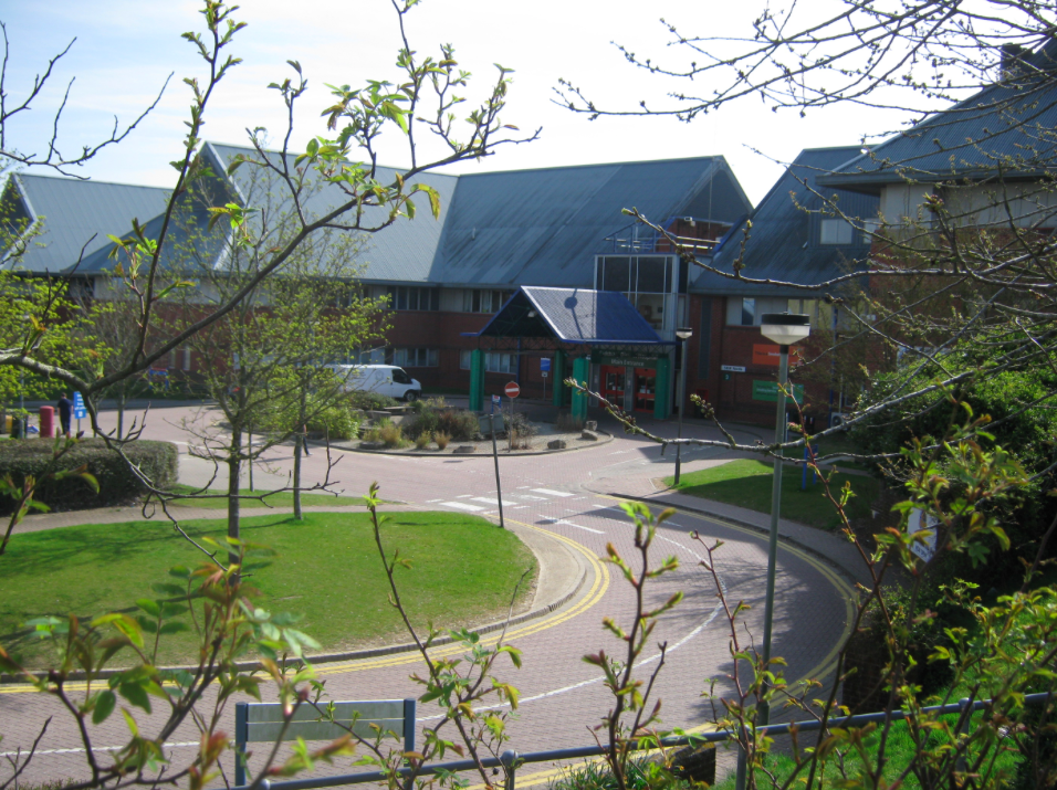 <em>The two people are in a critical condition at Salisbury District Hospital (Wikipedia)</em>