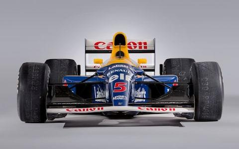 ex-Nigel Mansell 1992 Williams FW14B - Bonhams Goodwood Festival of Speed sale 2019