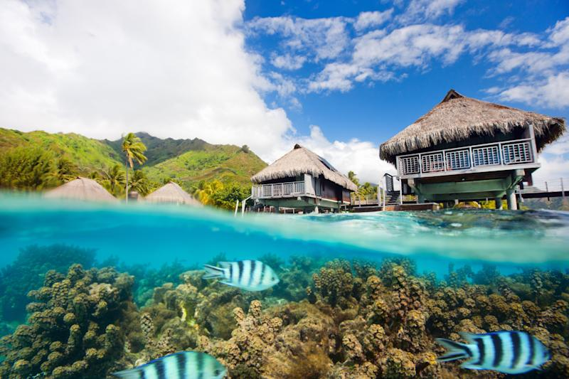 These Overwater Bungalows Will Convince You to Honeymoon in Paradise