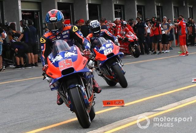 """Hafizh Syahrin, Red Bull KTM Tech 3 <span class=""""copyright"""">Gold and Goose / LAT Images</span>"""