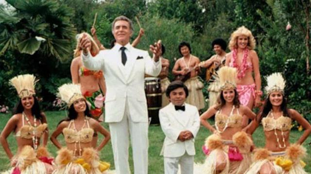 Ricardo Montalbán and Hervé Villechaize in Fantasy Island (Credit: Sony Pictures Television)