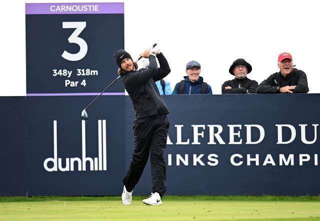 Tommy Fleetwood was two shots off the lead