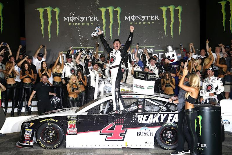 Harvick continues dominance with All-Star win