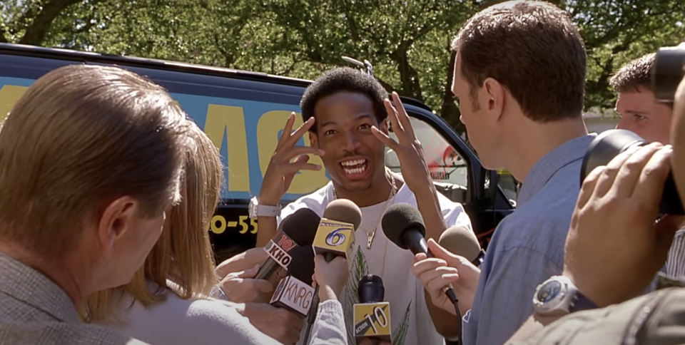 Marlon Wayans in Scary Movie. (Dimension)