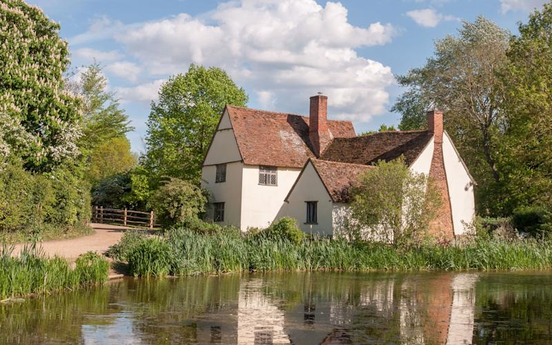 Willy Lott's House in Flatford featured in The Hay Wain – John Constable's most famous painting
