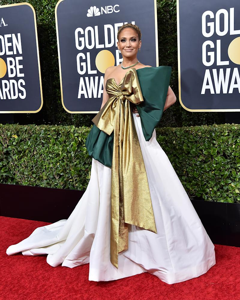 BEVERLY HILLS, CALIFORNIA - JANUARY 05: Jennifer Lopez attends the 77th Annual Golden Globe Awards at The Beverly Hilton Hotel on January 05, 2020 in Beverly Hills, California. (Photo by Axelle/Bauer-Griffin/FilmMagic)