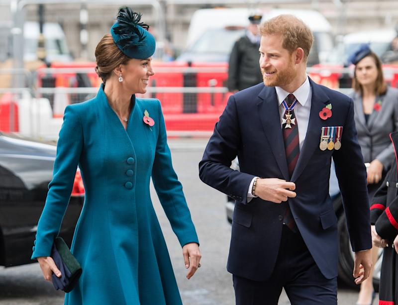 Prince Harry Just Made a Surprise Appearance With Kate Middleton