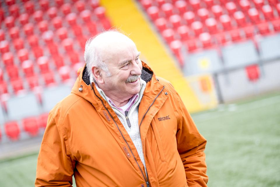 Different League: The Derry City Story - Eddie Mahon, one of the 'Gang of Four' at the Brandywell. (BBC)