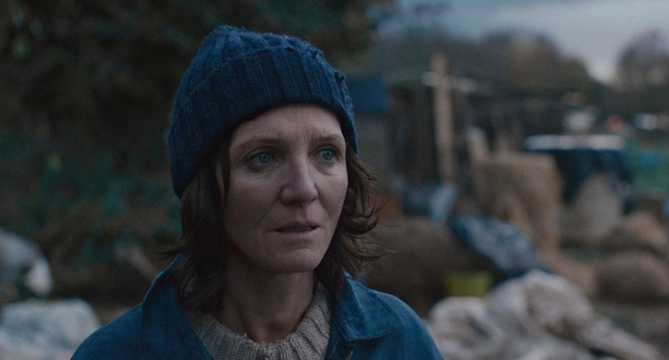 Michelle Fairley in Lena Headey's debut short <i>The Trap</i>.