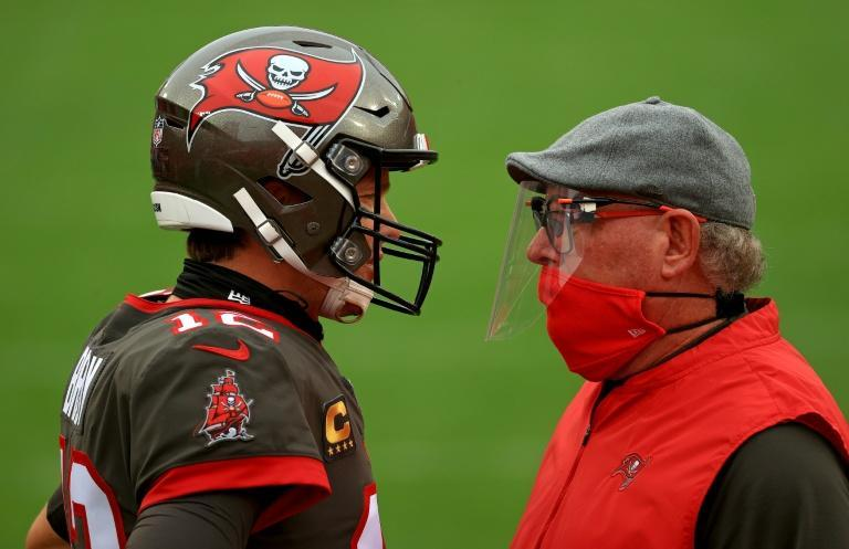 Tampa Bay coach Bruce Arians says Tom Brady has exceeded expectations since arriving at the club from the New England Patriots