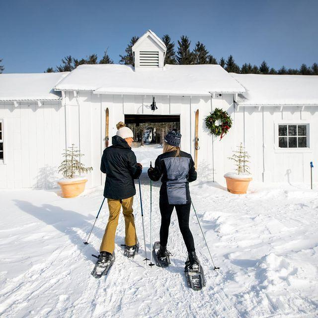 """<p><em>Surrounded by Mount Mansfield—the highest peak in Vermont with an elevation of 4,395 feet—the New England ski destination has more lifts than any other resort on the East Coast.</em></p><p><strong>Stay at </strong><strong>Edson Hill</strong></p><p>Surrounded by the scenic Vermont countryside, Edson Hill's boutique accommodations are located just 10 minutes away from some of the East Coast's best ski terrain. The 22-room inn boasts the perfect balance of eclectic antique decor and cozy contemporary features—like fireplaces and deep soaking tubs—to keep warm after a brisk day on the mountain. If you'd rather not venture out to eat, Edson Hill offers a casual fine dining restaurant and a tavern area with the option to order room service for just you and your ski buddies.</p><p><a class=""""link rapid-noclick-resp"""" href=""""https://go.redirectingat.com?id=74968X1596630&url=https%3A%2F%2Fwww.tripadvisor.com%2FHotel_Review-g57415-d114242-Reviews-Edson_Hill-Stowe_Vermont.html&sref=https%3A%2F%2Fwww.marieclaire.com%2Ftravel%2Fg35216261%2Fbest-ski-destinations%2F"""" rel=""""nofollow noopener"""" target=""""_blank"""" data-ylk=""""slk:Book It"""">Book It</a></p><p><a href=""""https://www.instagram.com/p/CKEuTdbBlI7/"""" rel=""""nofollow noopener"""" target=""""_blank"""" data-ylk=""""slk:See the original post on Instagram"""" class=""""link rapid-noclick-resp"""">See the original post on Instagram</a></p>"""