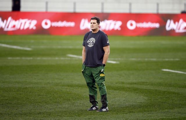 South Africa director of rugby Rassie Erasmus will face a misconduct hearing after the series against the Lions