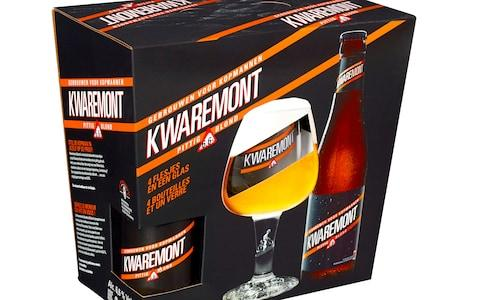 Kwaremont gift pack with glass – Brouwerij De Brabandere - Cycling Christmas gift ideas: The ultimate guide for road cyclists