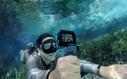 GoPro waterproof action camera