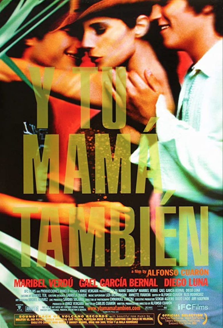"""<p>Sex, here, is the rite of passage, though not in the way its lead protagonists first assumed. Alfonso Cuarón's film finds two friends and an older woman journeying across Mexico at a moment of transition for each. But the film is way more than a sex road trip movie; it's a masterfully-told coming of age film that has aged like fine wine.</p><p><a class=""""link rapid-noclick-resp"""" href=""""https://www.amazon.com/Tu-Mama-Tambien-English-Subtitled/dp/B008ZUVDU8/ref=sr_1_1?dchild=1&keywords=Y+Tu+Mam%C3%A1+Tambi%C3%A9n&qid=1622131957&s=instant-video&sr=1-1&tag=syn-yahoo-20&ascsubtag=%5Bartid%7C2139.g.36530740%5Bsrc%7Cyahoo-us"""" rel=""""nofollow noopener"""" target=""""_blank"""" data-ylk=""""slk:STREAM IT HERE"""">STREAM IT HERE</a></p>"""