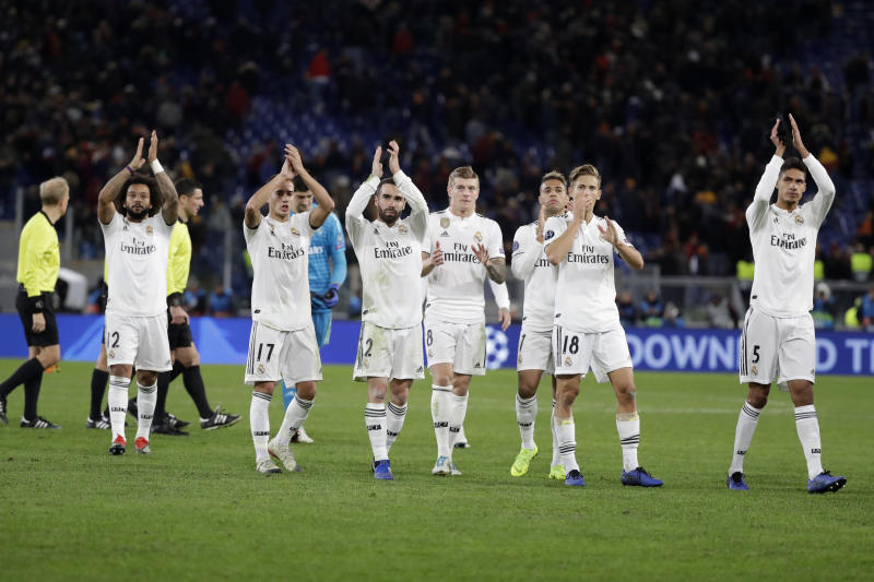 Spain's Real Madrid was the most tweeted about soccer team in the U.S. in 2018. (THE ASSOCIATED PRESS)