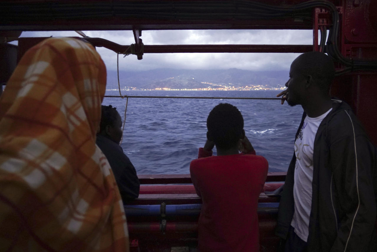 What now? Migrants disembark in Europe to uncertain future