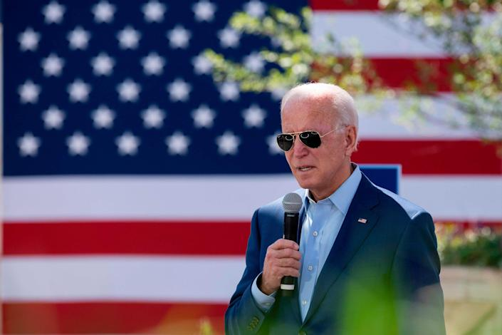 Democratic presidential candidate Joe Biden on Sept. 23, 2020, in Charlotte, North Carolina.