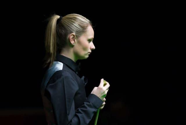 Reanne Evans missed out on qualification (Tim Goode/PA)
