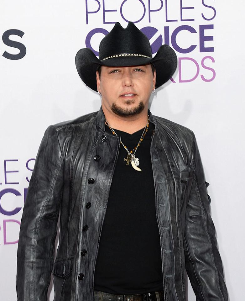Jason Aldean attends the 39th Annual People's Choice Awards at Nokia Theatre L.A. Live on January 9, 2013 in Los Angeles, California.