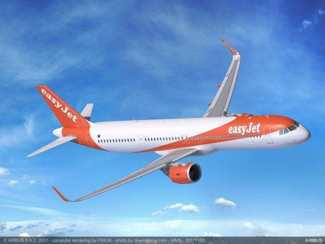easyJet produces white noise recording of airplane jet engines for insomniacs