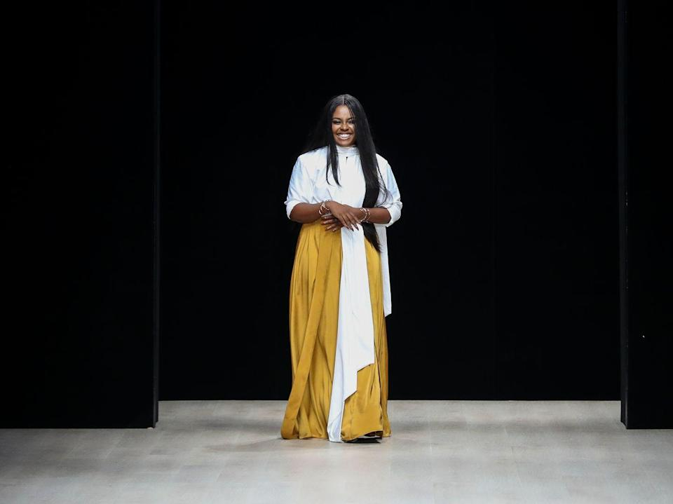 <p><strong>Brand:</strong> Andrea Iyamah</p><p>Specializing in swimwear, there's quite literally something for everyone (seriously, even brides!) from designer Andrea Iyamah's stunningly colorful collections.</p>