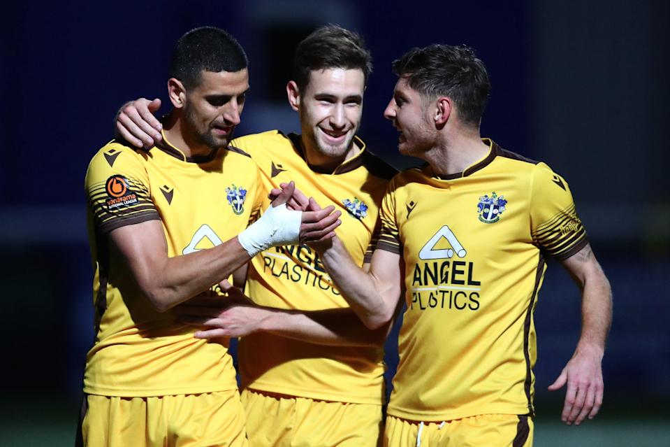 <p>Sutton United will play in League Two next season</p> (Getty Images)