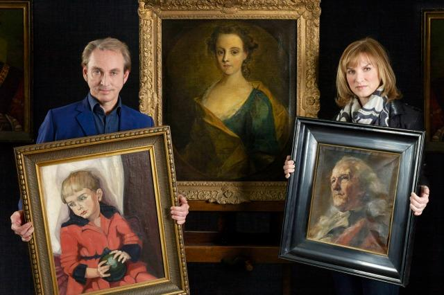 The lost painting identified as genuine