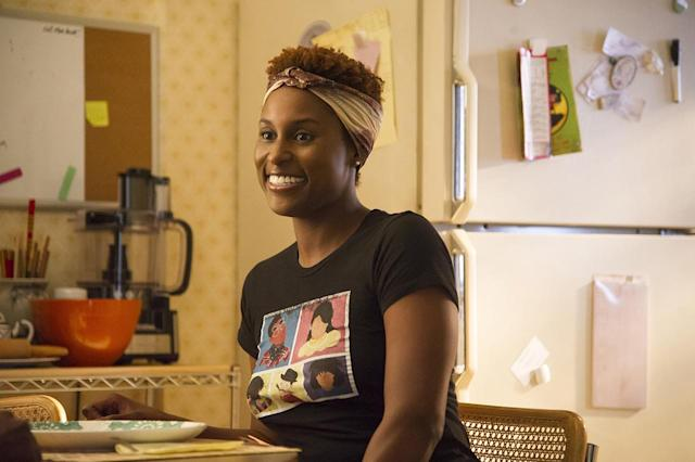 <p>Issa Rae instantly changed the complexion of HBO's comedy lineup with her terrific relationship series, <i>Insecure</i>. Sadly, she was overlooked in both the acting and writing categories, which deprived the soon-to-debut Season 2 of an always-helpful Emmy bump. <i>— EA</i><br><br>(Photo: HBO) </p>