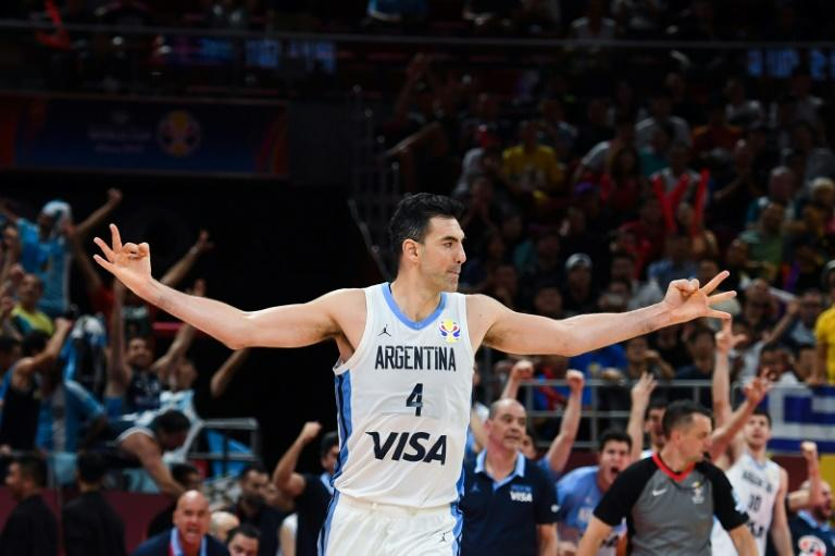 Argentina's Luis Scola dominated the court in their semi-final against France