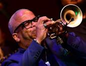 Terence Blanchard, seen here performing at the Kennedy Center in 2019, has scored dozens of films during his long career (AFP/EVA HAMBACH)