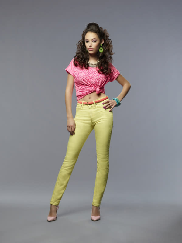 "Chloe Bridges as Donna in ""The Carrie Diaries."""