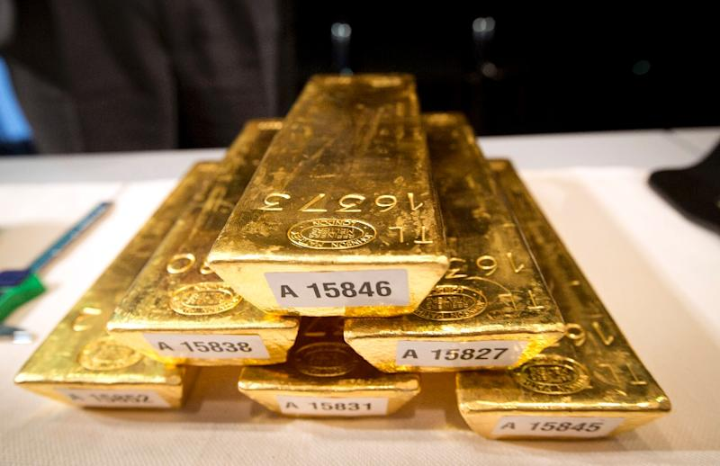 Gold prices dropped to a five-year low on Monday