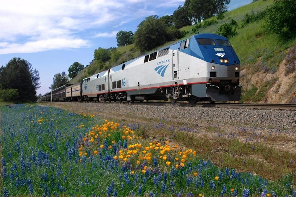 All aboard from east or west: Amtrak offers service to and from the West Coast on California Zephyr.