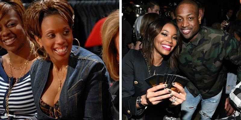 """NBA star Dwayne Wade and ex-wife Siohvaughn Wade's messy divorce got even messier in May 2010, when Siovaughn<a href=""""http://www.nydailynews.com/entertainment/gossip/gabrielle-union-sued-dwyane-wade-estranged-wife-siohvaughn-funches-emotional-distress-article-1.447224"""" target=""""_blank"""">sued her ex's then-girlfriend Gabrielle Union,</a>claiming the actress and Dwyane's PDA and """"sexual foreplay"""" had caused distress to the pair's two young children. The <a href=""""http://www.eonline.com/news/195874/gabrielle-union-cleared-of-wrecking-dwyane-wade-s-marriage-freaking-out-kids"""" target=""""_blank"""">lawsuit aws dismissed</a> and Union and the <a href=""""http://www.essence.com/galleries/inside-gabrielle-union-and-dwyane-wades-wedding-day#546251"""" target=""""_blank"""">NBA star married inAugust 2014</a>."""