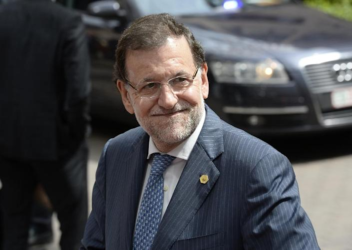 Spanish Prime Minister Mariano Rajoy (AFP Photo/Thierry Charlier)