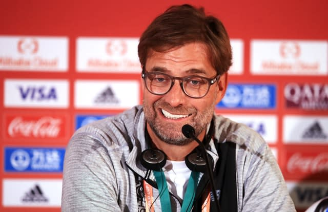 Jurgen Klopp insists Liverpool do not see themselves as favourites (Adam Davy/PA)