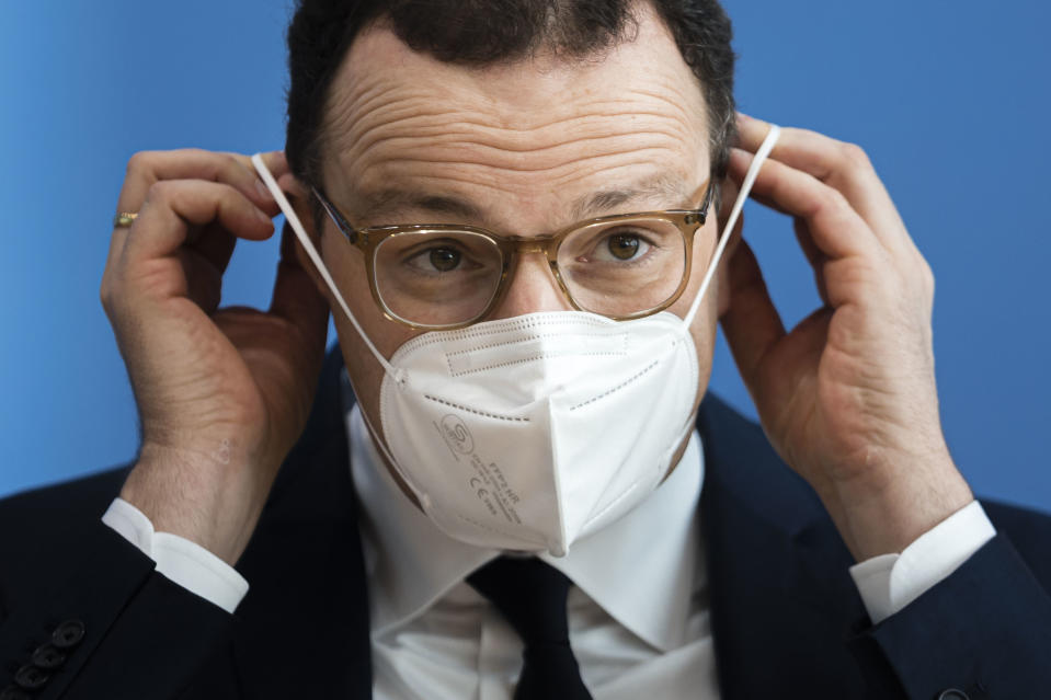 Jens Spahn, Germany's health minister. Photo: Thomas Trutschel/Photothek via Getty Images